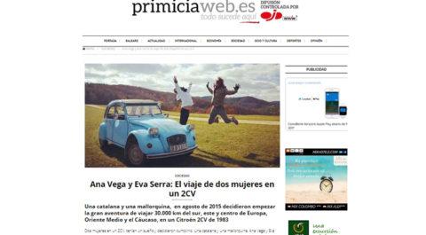 Primicia web – España