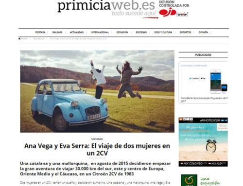 Primicia web – Spain
